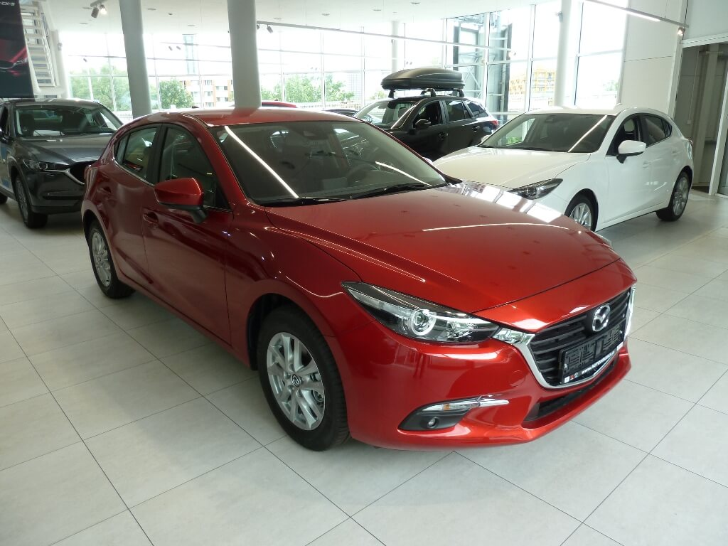 Mazda 3 HB Attraction 2.0G 120k MAN6
