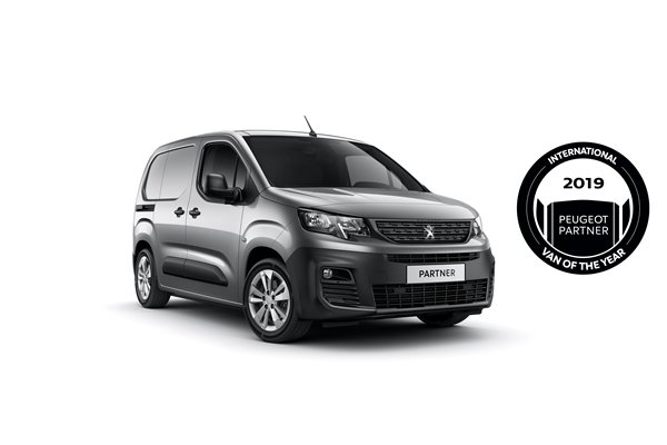 Nový PEUGEOT PARTNER: International Van Of The Year 2019